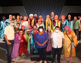 وزيرة الثقافة: مسرح الدولة مستمر في تقديم المعالجات لقضايا المجتمع| صور