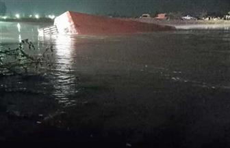 غرق معدية نيلية بالبحيرة وانتشال 3 ضحايا وجار البحث عن آخرين