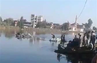 انتشال جثة أحد ضحايا غرق معدية البحيرة.. وجار البحث عن جثتين أخريين