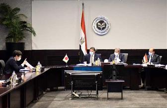 الرئيس التنفيذي لهيئة الاستثمار يستقبل رئيس مجلس الأعمال المصري الياباني
