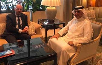 السفير البحريني يستقبل نظيره الهولندي بمصر لبحث تعزيز العلاقات المشتركة