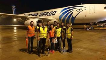تسيير أولى رحلات شركة مصر للطيران للشحن الجوي إلى سريلانكا