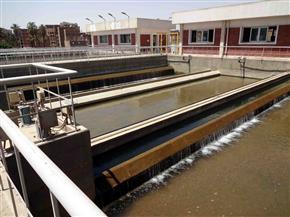 قطع المياه عن حي شرق مدينة سوهاج غدا