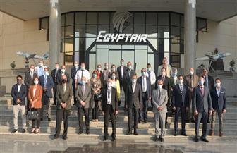 """للعام الـ12على التوالي.. شركة مصر للطيران للخطوط الجوية تجتاز تجديد شهادات """"الأيزو"""""""