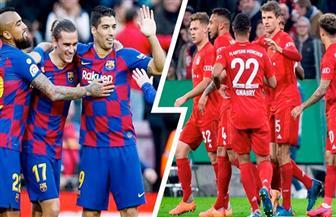 التشكيل المتوقع لقمة مباريات ربع نهائي دوري الأبطال بين برشلونة وبايرن ميونيخ