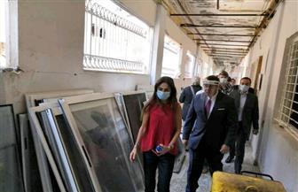 سفير مصر بلبنان يسلم ٢ طن من المساعدات الطبية لمستشفى الكرنتينا الحكومي ببيروت صور