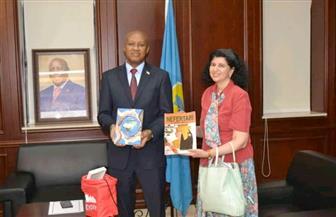 الرئاسة البوروندية تجرى مراسم توديع سفيرة مصر بعد انتهاء مدة خدمتها|صور
