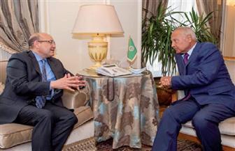 """أبو الغيط في حوار مع رئيس تحرير """"الأهرام"""": أدعو اللبنانيين لإصلاح شامل.. و«السلاح» لن يحل الأزمة الليبية"""