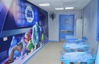 تطوير جناح العمليات بمستشفى الأطفال بجامعة المنصورة |صور