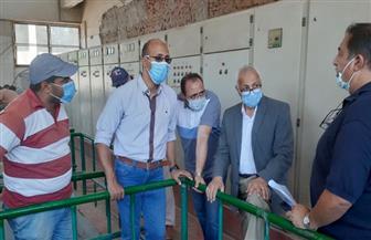 """مساعد نائب رئيس""""هيئة المجتمعات العمرانية"""" يتفقد مشروعات المرافق بمدينة الشروق صور"""