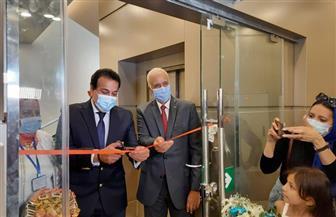 وزير التعليم العالي ورئيس جامعة الإسكندرية يفتتحان متحف مقتنيات الجامعة   صور