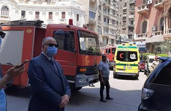 محافظة القاهرة: إنقاذ 14 شخصا ونقل 2 لمستشفى أحمد ماهر في انهيار عقار قصر النيل   صور