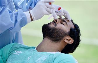 الأهلي يجري مسحة طبية استعدادا لمواجهة أسوان | صور