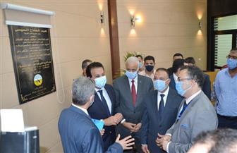 وزير التعليم العالي يفتتح أعمال التطوير بكلية الطب بالإسكندرية  صور