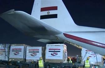 وصول طائرتي المساعدات الخامسة والسادسة من الجسر الجوي الإغاثي المصري إلى لبنان