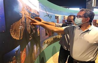 وزير السياحة والآثار يتفقد مركز الزوار والخدمات السياحية بمحمية رأس محمد | صور