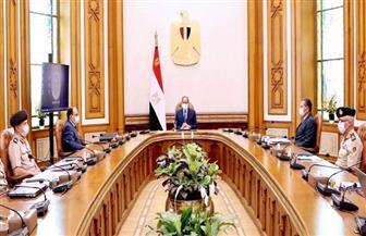الرئيس السيسي يوجه بالالتزام بتطبيق أحدث المعايير الإنشائية والتكنولوجية في العاصمة الإدارية الجديدة