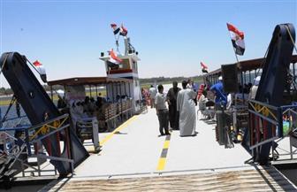محافظ أسوان يكلف رؤساء المدن والمراكز بالمرور الميداني على  العبارات والمعديات النيلية | صور
