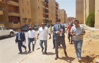 """حملة تفتيش لضبط مخالفات """"الإسكان الاجتماعي"""" بمدينة حدائق أكتوبر"""
