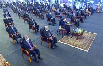 بدء حفل افتتاح المرحلة الرابعة من الخط الثالث لمترو الأنفاق بحضور الرئيس السيسي