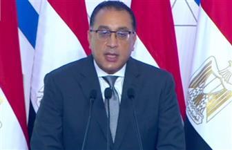 رئيس الوزراء: تريليون جنيه حجم الاستثمارات في قطاع النقل.. وتم وجار تنفيذ 7 آلاف كم من الطرق