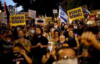 اعتقال 11 شخصا خلال تظاهرة مناهضة لنتنياهو شارك فيها الآلاف