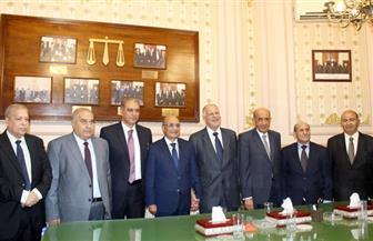 وزيرا العدل والمجالس النيابية ورؤساء الهيئات القضائية يهنئون رئيس مجلس القضاء الأعلى الجديد | صور