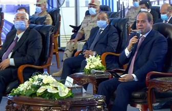 """الرئيس السيسي: الدولة حققت نجاحا ملموسا فى مواجهة """"كورونا"""" ..وإنهاء التعامل مع مخالفات البناء خلال 6 أشهر"""