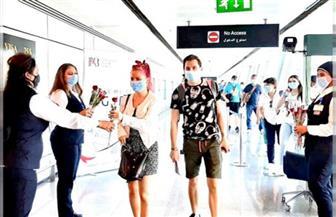 بعد استئناف الحركة الجوية.. وصول أولى رحلات شركة إير بوخارست إلى مطار الغردقة