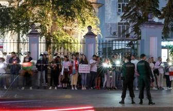 مواجهات بين متظاهرين وقوات الأمن وسط عاصمة بيلاروسيا