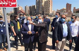 وزير التنمية المحلية ومحافظ الغربية يتفقدان مشروعات التطوير والتجميل بمدينة طنطا | صور