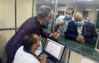 وزير التنمية المحلية يتابع إجراءات التصالح على مخالفات البناء بالمركز التكنولوجي بحي ثان طنطا | صور