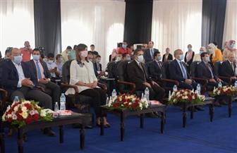 3 وزراء يشاركون بمؤتمر محافظة الغربية | صور