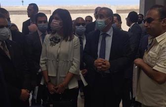 وزير التموين يتفقد المنطقة التجارية في طنطا