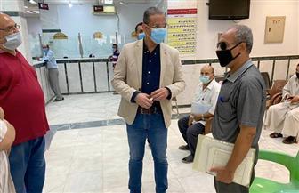 """""""الأنصاري""""  يفاجئ المركز التكنولوجي بمجلس مدينة الفيوم صور"""