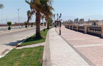 «فودة» يتفقد مشروعات تطوير طور سيناء الجديدة بتكلفة 90 مليون جنيه | صور