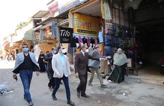 جولة مفاجئة لمحافظ كفر الشيخ بشوارع العاصمة|صور