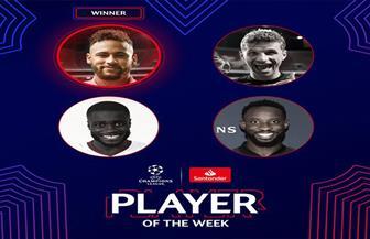 «نيمار» أفضل لاعب في دور ربع نهائي دوري أبطال أوروبا
