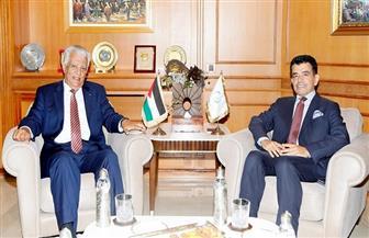 المدير العام للإيسيسكو يستقبل سفير فلسطين بالرباط