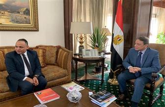 """تفاصيل اجتماع كرم جبر مع رئيس أكاديمية البحث العلمي في """"ماسبيرو"""""""