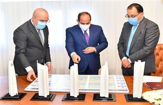 الرئيس السيسي: إستراتيجية الدولة تتضمن إقامة مشروعات محطات معالجة وتحلية المياه بقيمة ٤٣٥ مليار جنيه| صور
