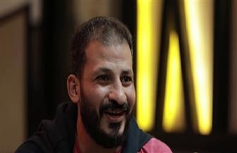 سيد معوض يحضر لقاء الأهلي وأسوان من مقصورة إستاد القاهرة