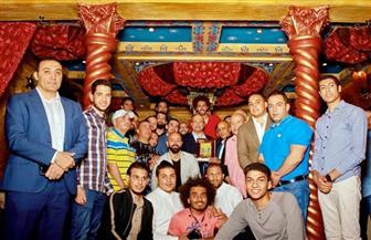 الجالية المصرية فى أوكرانيا تنظم حفلا لتكريم السفير حسام الدين علي مع قرب انتهاء فترة خدمته |صور