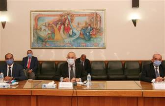 وزيرا الري والإسكان يتابعان تنفيذ إجراءات ترشيد المياه وتوصيل الصرف الصحي والمشروعات المشتركة  صور