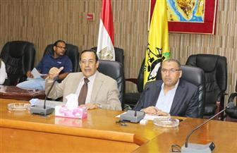 محافظ شمال سيناء يؤكد سرعة طرح مشروعات الخطة الاستثمارية|صور
