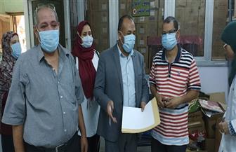 تعافي وخروج ٢٧٤ حالة من مصابي فيروس كورونا بمستشفى حميات قنا  صور