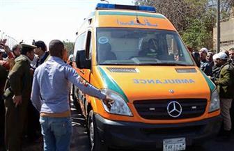 إصابة 13 عاملاً زراعياً في انقلاب سيارة بالبحيرة