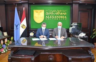بروتوكول تعاون بين جامعتي الإسكندرية ومطروح لتنمية قدرات هيئة التدريس | صور