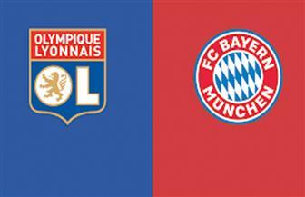 انطلاق مباراة أولمبيك ليون وبايرن ميونيخ في نصف نهائي دوري الأبطال