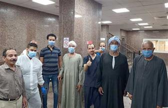 خروج 5 حالات من مستشفى الأقصر العام ليصل إجمالي المتعافين 410 حالات |صور